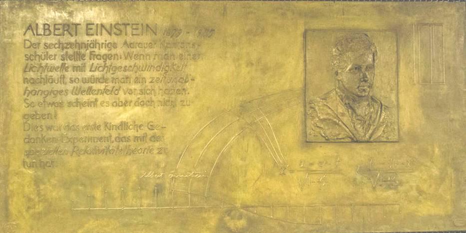 Albert Einstein ad Aarau @ Neue Kantonsschule, Aarau | Aarau | Aargau | Svizzera